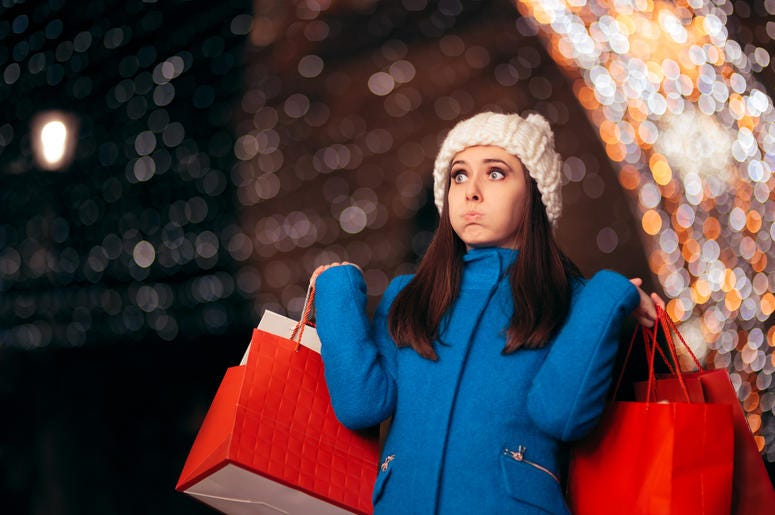 New study about Christmas shopping