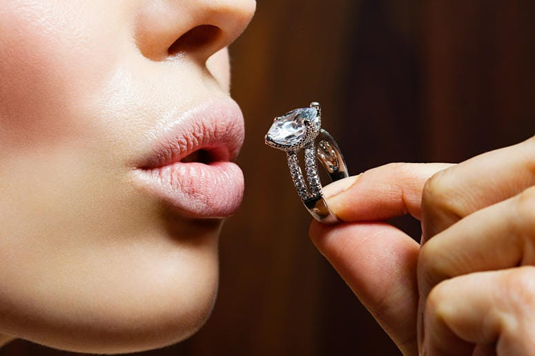 Women are buying their own rings
