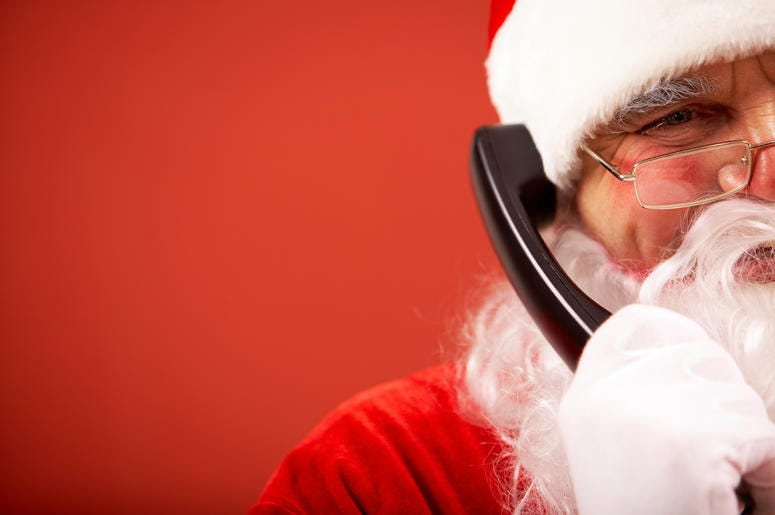 Santa has a hotline your kids can call