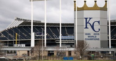 It is April and no Royals games on the MLB schedule