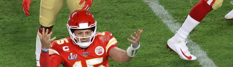 Patrick Mahomes Victory Kneels Screw Bettors in Crushing Super Bowl Prop Bet Loss