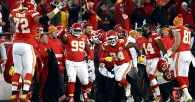 The Chiefs pull off a stunner