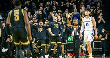 Shockers win big over Memphis