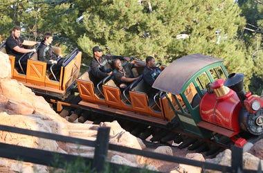 Disneyland's Big Thunder Mountain Railroad