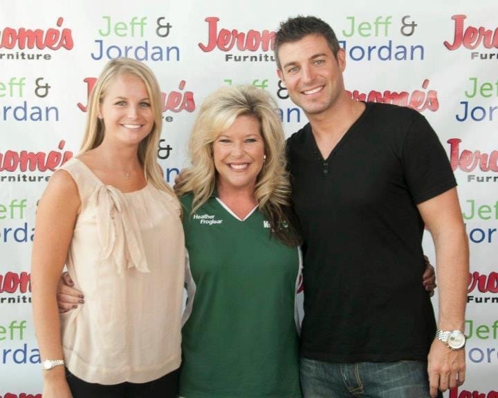 Jordan Lloyd and Jeff Schroeder of Big Brother fame, with Heather Froglear