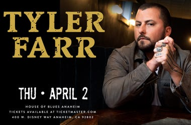 Tyler Farr at House of Blues Anaheim