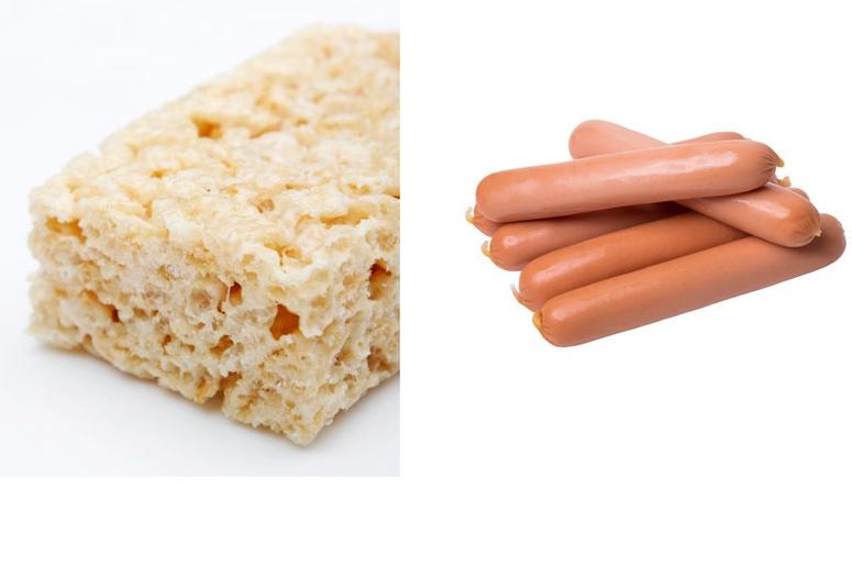 Rice Krispies Treats Hot Dogs