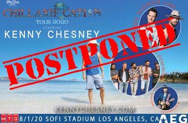 Kenny Chesney Postponed