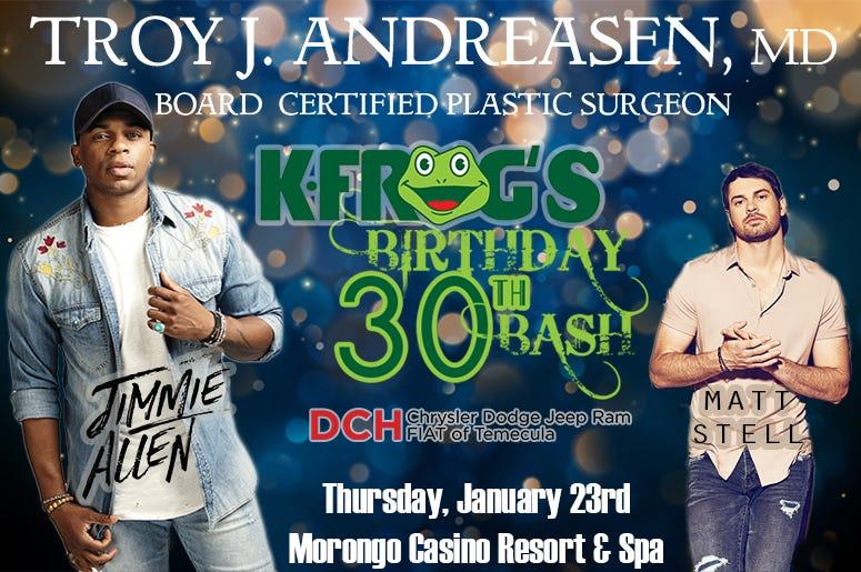 K-FROG's 30th Birthday Bash