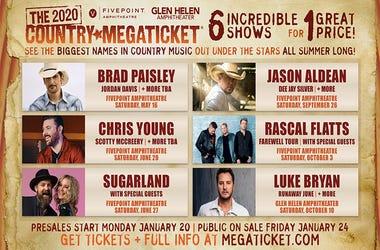 Country Mega Ticket