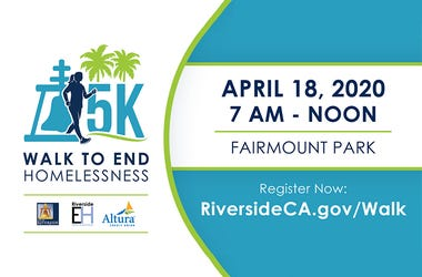 5K Walk to End Homelessness at Fairmount Park April 18