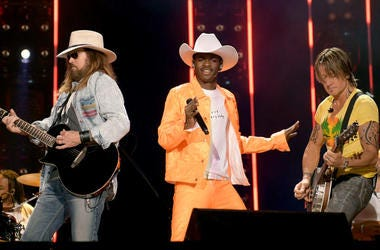Billy Ray Cyrus, Lil Nas X and Keith Urban