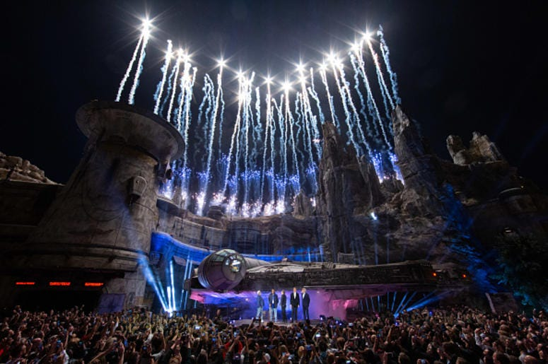 Disneyland Galaxy's Edge