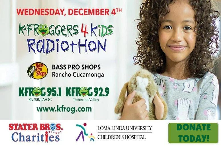 KFROGGERS For Kids Radiothon