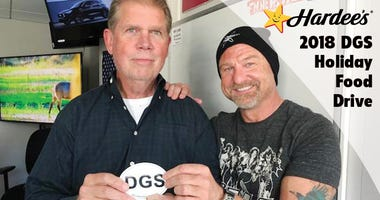 The Dave Glover Show Holiday Food Drive