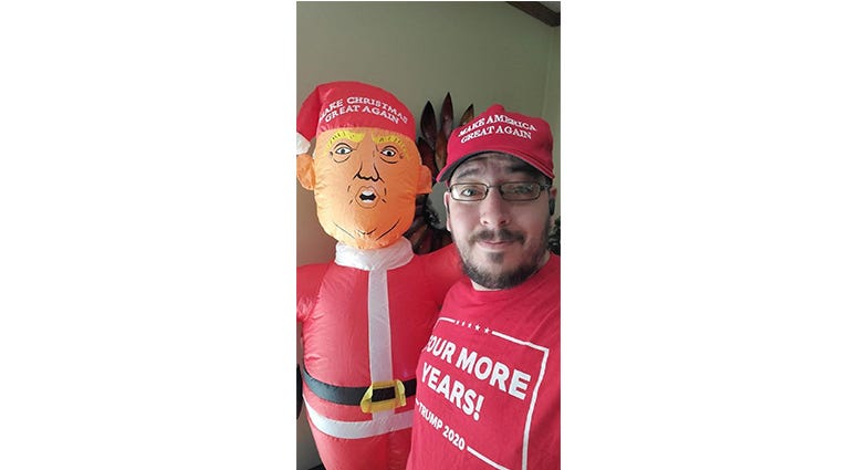 Image gallery of AFS listeners rocking their MAGA Gear