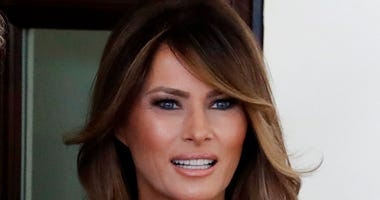 File photo of First Lady Melania Trump