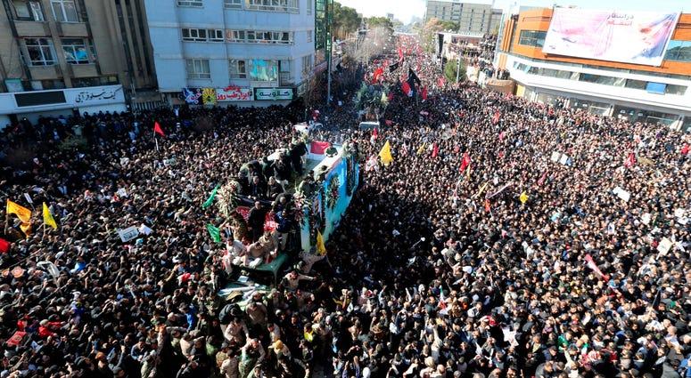 Gen. Qassem Soleimani funeral
