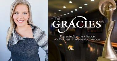 Annie Frey wins Gracie Award