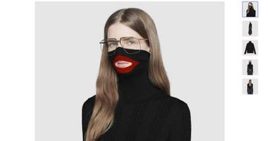 "Gucci has since pulled the ""black face"" sweater from its website."