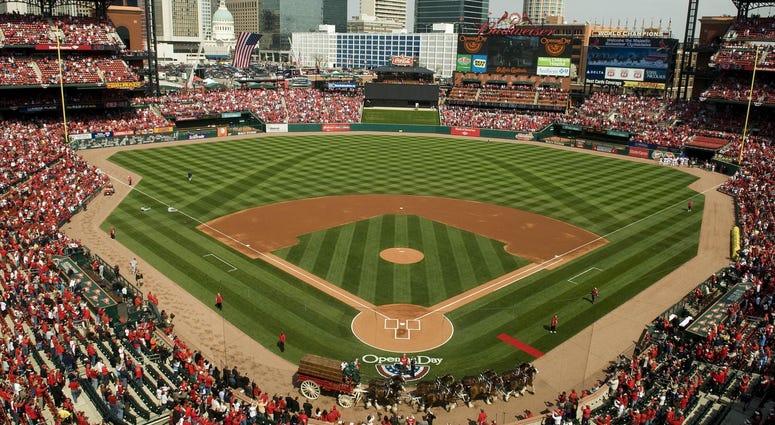 Busch Stadium Opening day