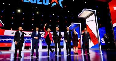 Dem Debate SC Full Stage