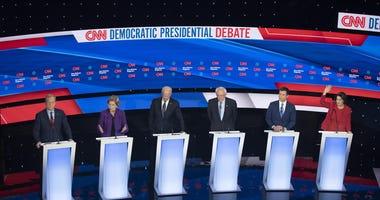 Democrats Debate Des Moines