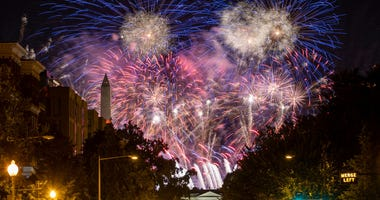 Fireworks over White House RNC Getty Images Tasos Katopodis Stringer