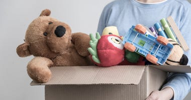 box of things to donate