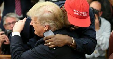 Trump, Kayne West