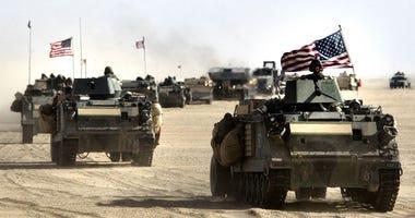 Iraq, troops, U.S.