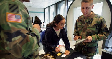 recruit, military