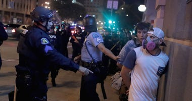 police, St. Louis, protest