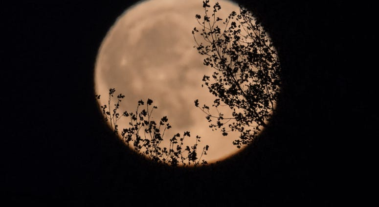 Harvest Moon in England