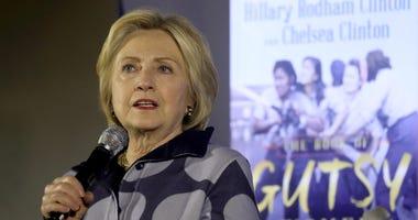 Hillary Clinton Book Release