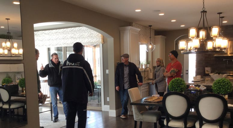 Dave Glover and Mark Klose at Lombardo Homes