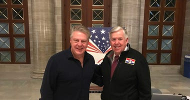 Marc Cox, Gov. Mike Parson