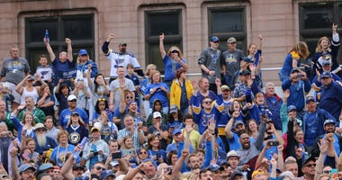 St. Louis Blues Championship Parade and Rally June 15, 2019 in Downtown St. Louis