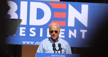 Joe Biden Campaigns © Ed Komenda  Reno Gazette Journal, Reno Gazette Journal via Imagn Content Services, LLC.jpg
