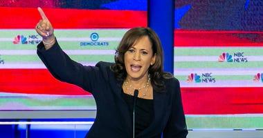 Kamala Harris Democrat Debate © TNS.jpg