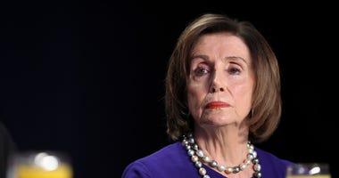 Nancy Pelosi Purple Dress