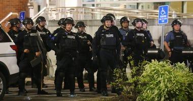 police, ferguson, protest