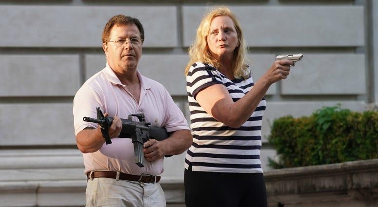 CWE couple, guns, McClosky