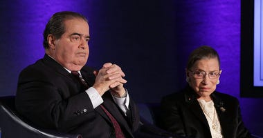 Justices Scalia & Ginsburg