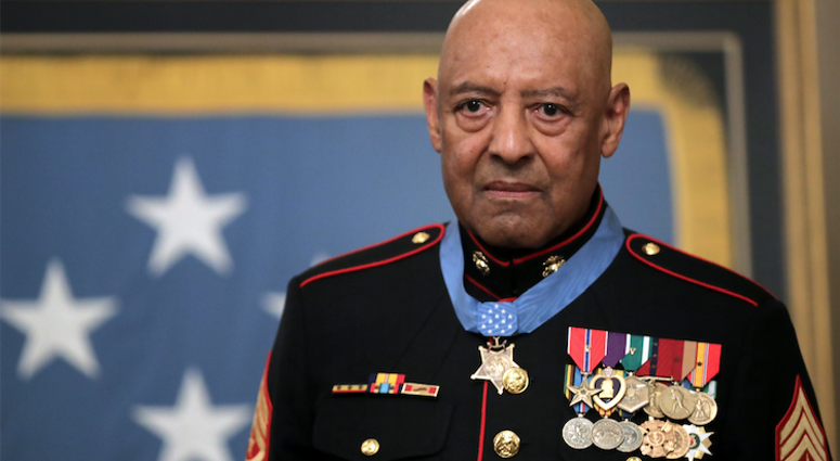Marine Sgt Maj John Canley Awarded Medal Of Honor For Conspicuous Gallantry In Vietnam