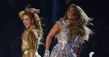 Super Bowl Halftime Shakira and Jennifer Lopez
