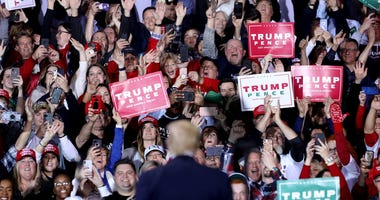 Trump Rally Michigan