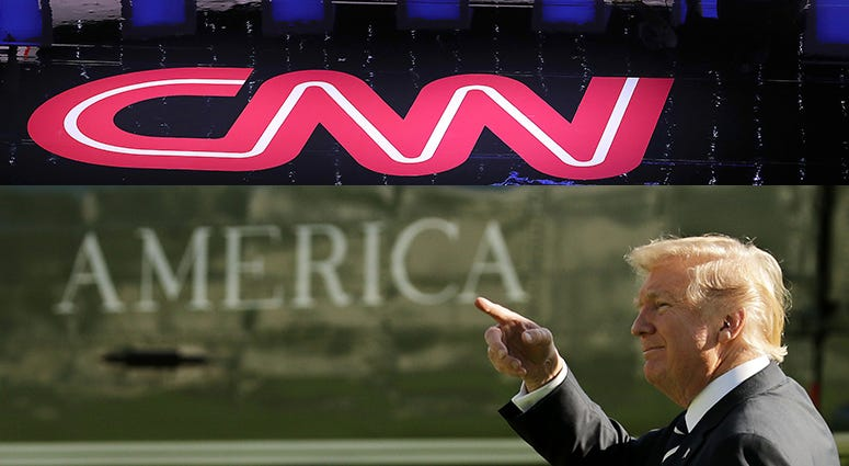 President Trump's Campaign threatens to sue CNN over 'biased' reporting
