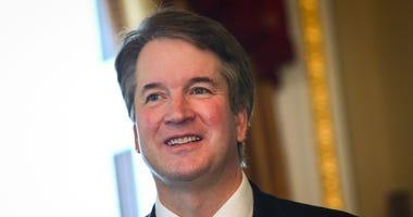 Supreme Court nominee Brett Kavanaugh Capitol Hill.