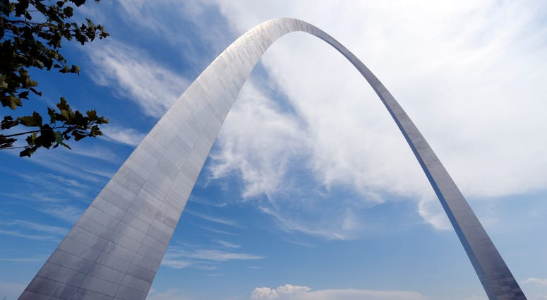 The St. Louis Arch in Missouri